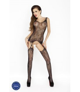 Passion - Bodystocking BS015, Black