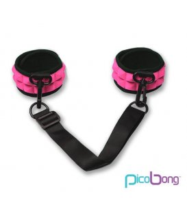 Picobong - Resist No Evil Cuffs, Cerise