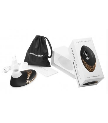 Womanizer - W500, Black + 50ml glidmedel